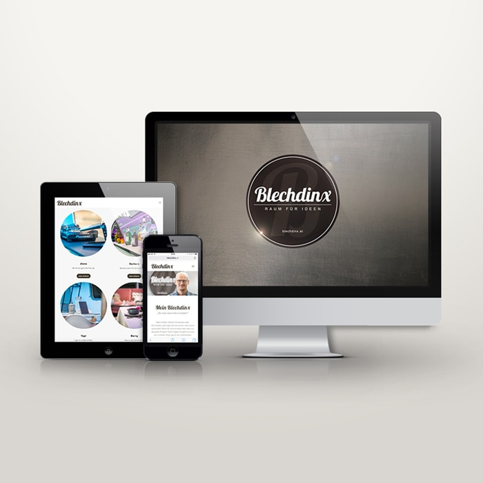 Website Blechdinx